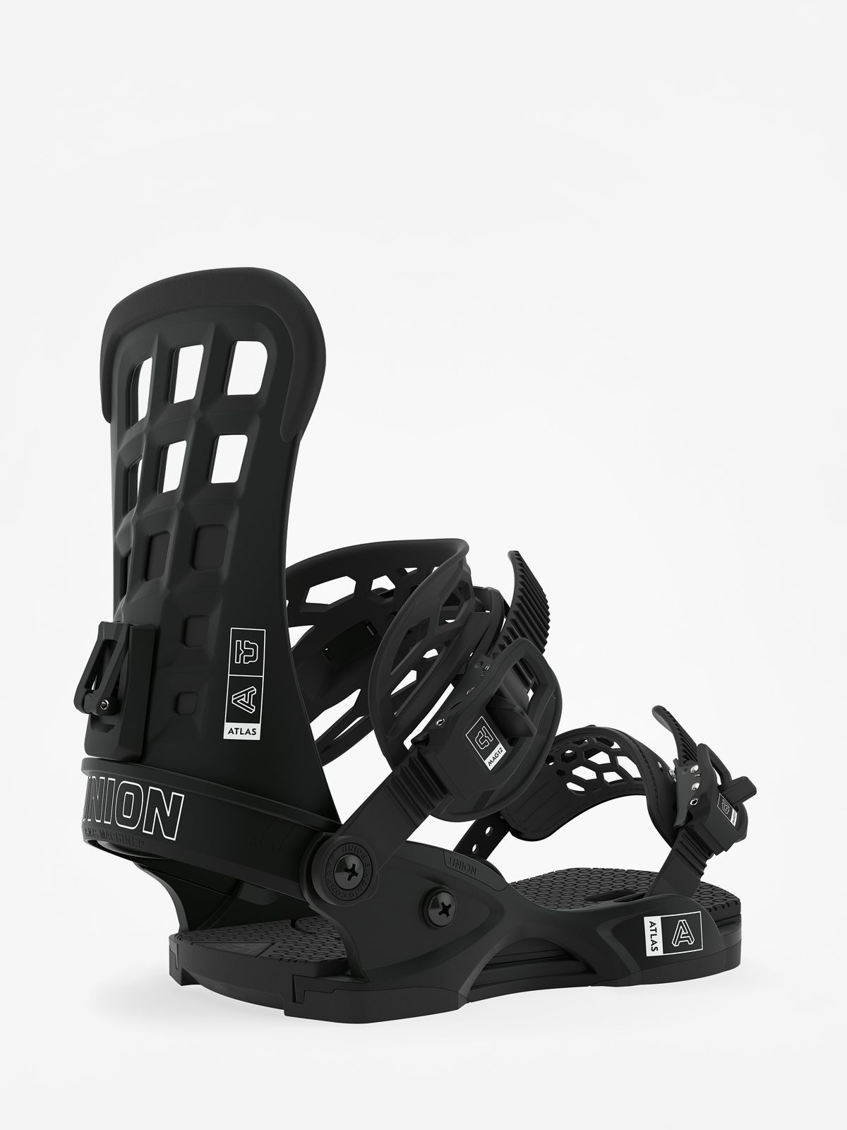 Wiu0105zania snowboardowe Union Atlas (black)