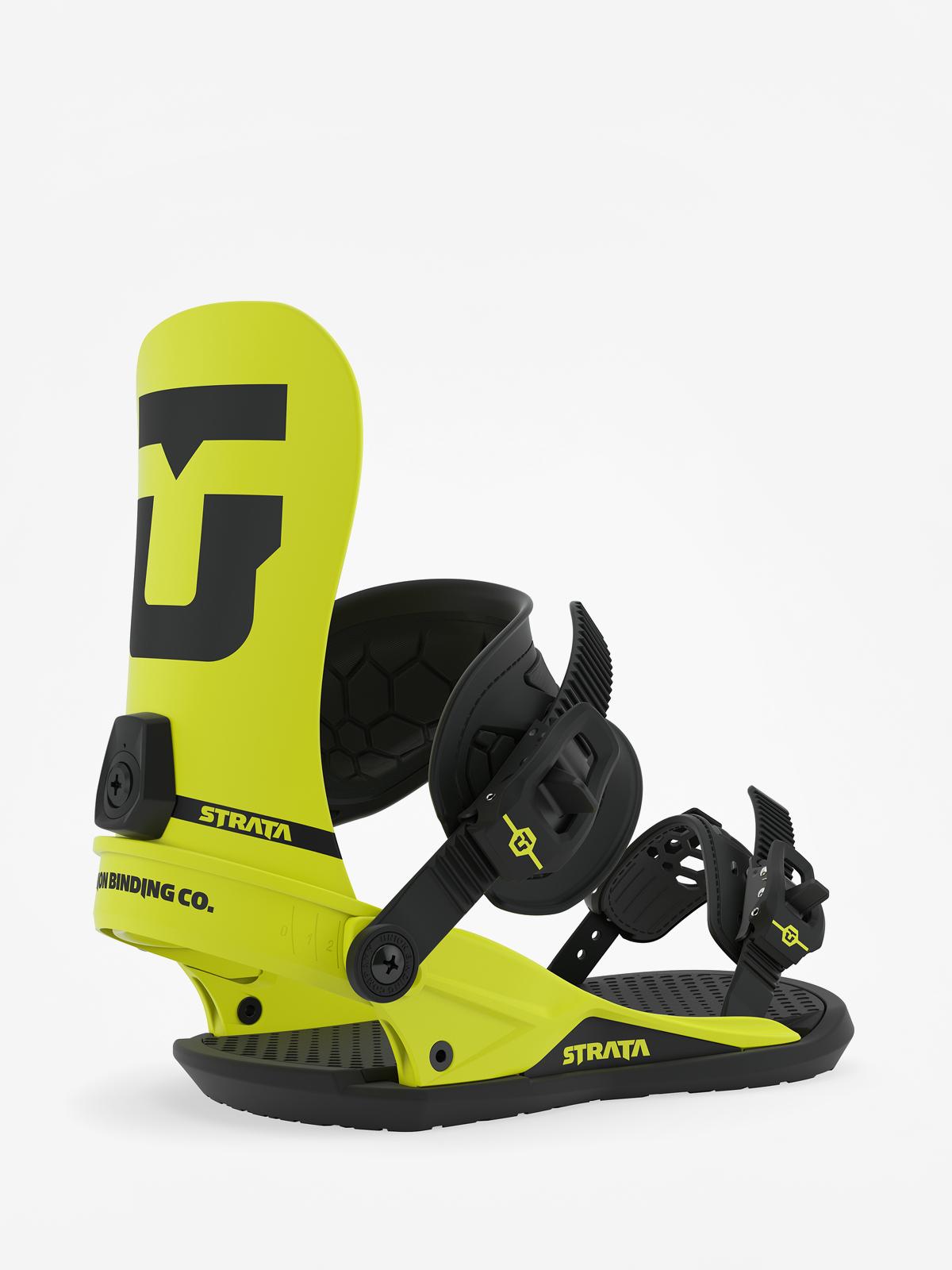 Wiu0105zania snowboardowe Union Strata (hazard yellow)