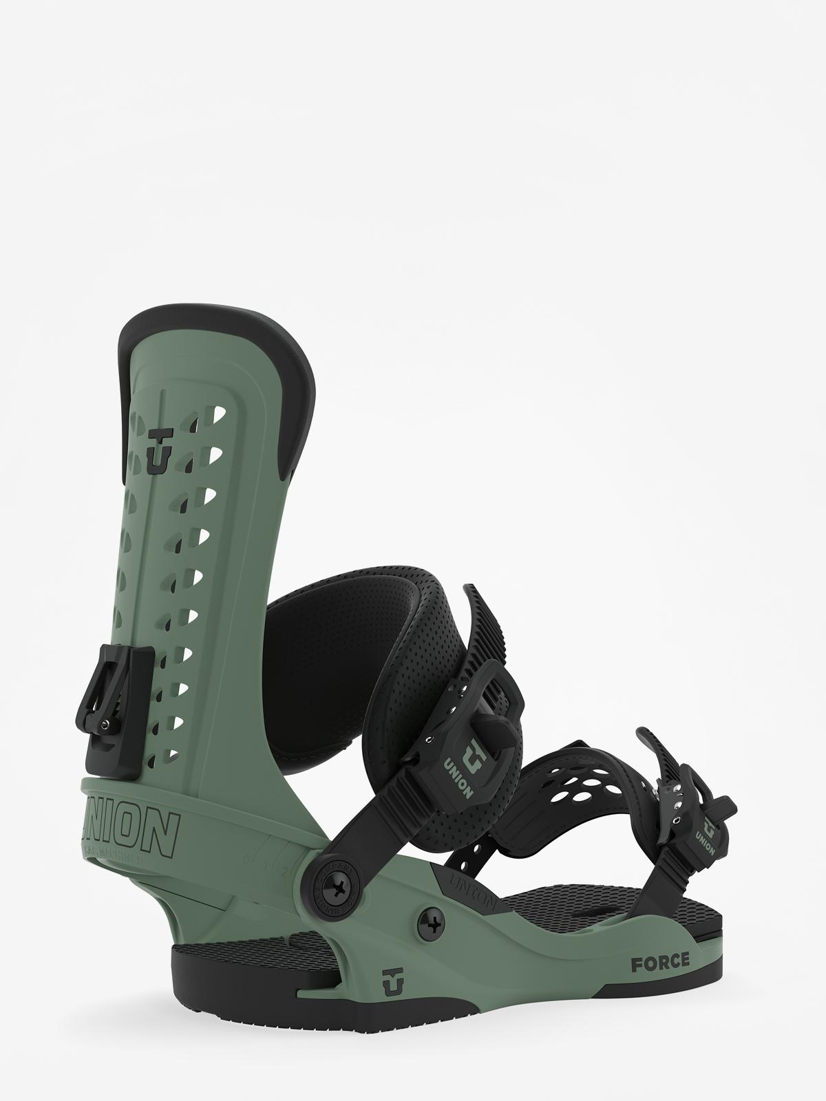Wiu0105zania snowboardowe Union Force (matte sage)