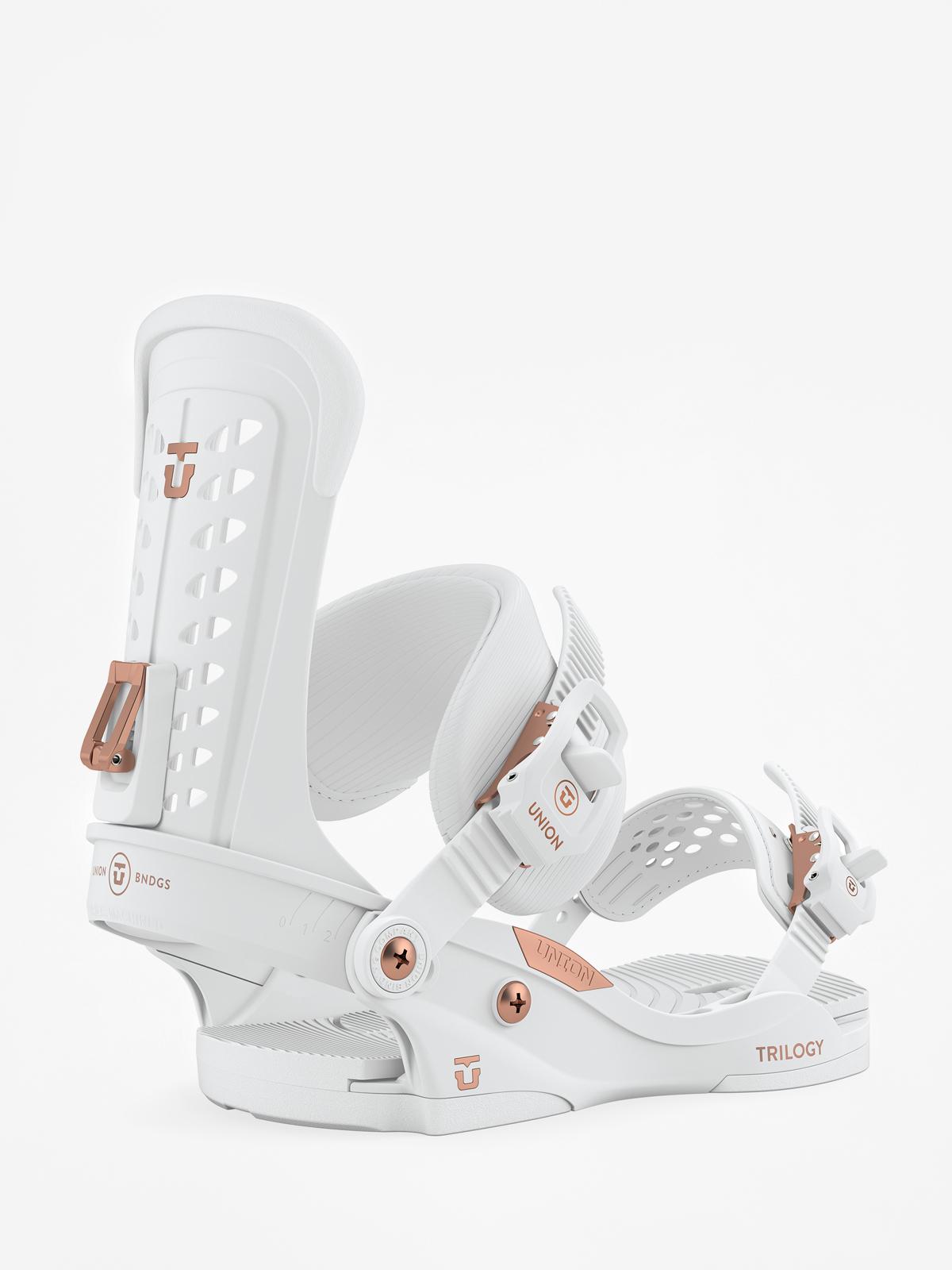 Wiu0105zania snowboardowe Union Trilogy Wmn (white)