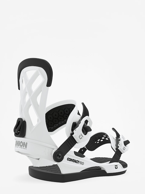 Wiązania snowboardowe Union Contact Pro (white)