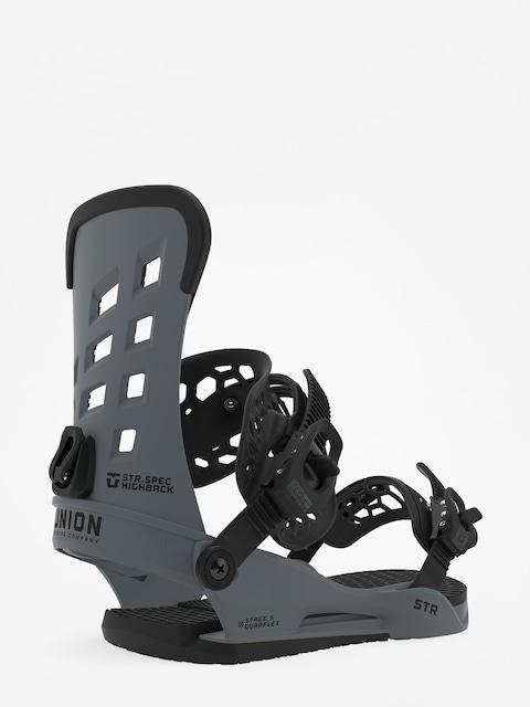 Wiązania snowboardowe Union Str (dark grey)