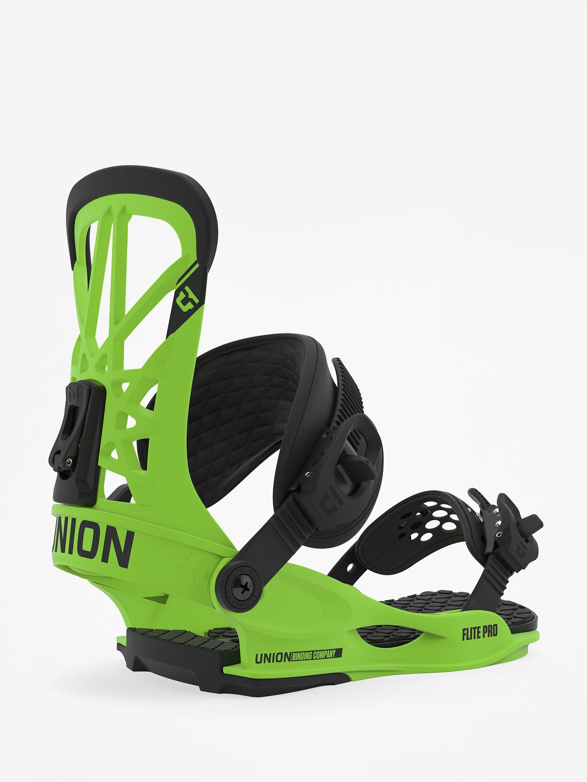 Wiu0105zania snowboardowe Union Flite Pro (acid green)