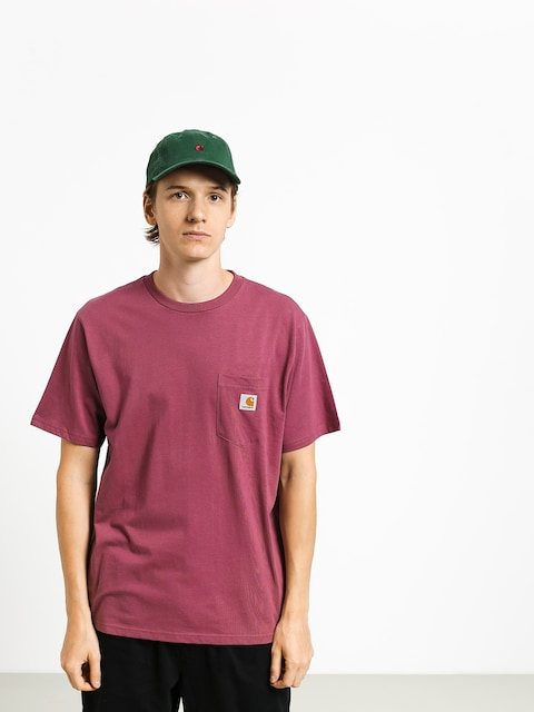 T-shirt Carhartt WIP Pocket (dusty fuchsia)