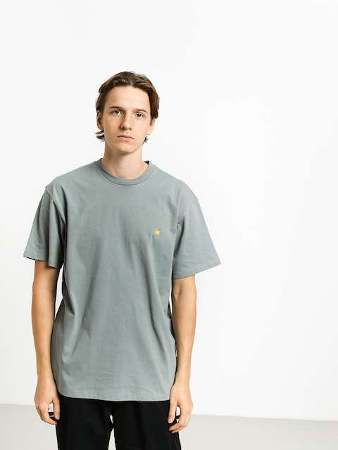 T-shirt Carhartt WIP Chase (cloudy/gold)