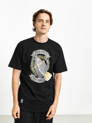 T-shirt MassDnm In Gold We Trust (black)