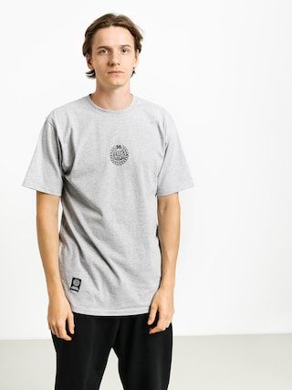 T-shirt MassDnm Base Small Logo (light heather grey)