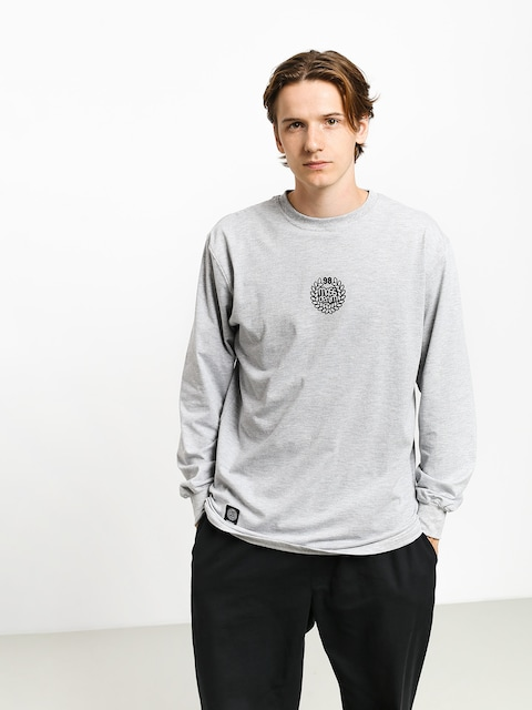 Longsleeve MassDnm Base Small Logo (light heather grey)
