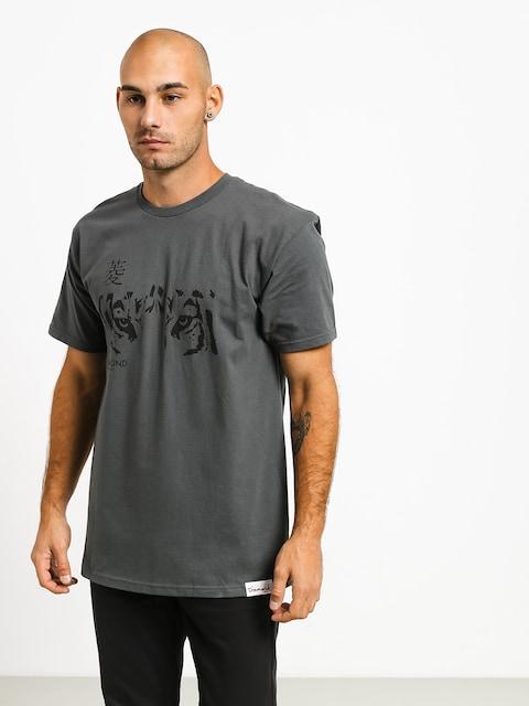 T-shirt Diamond Supply Co. Tiger Eye (charcoal)