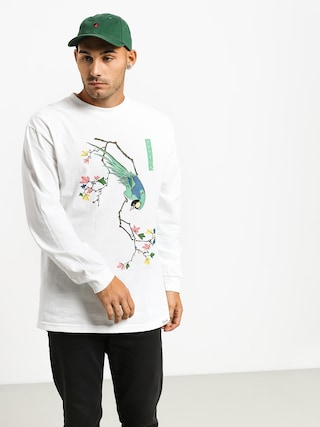Longsleeve Diamond Supply Co. Perched (white)