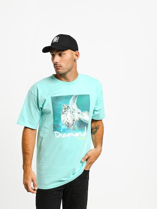 T-shirt Diamond Supply Co. Shimmer (diamond blue)