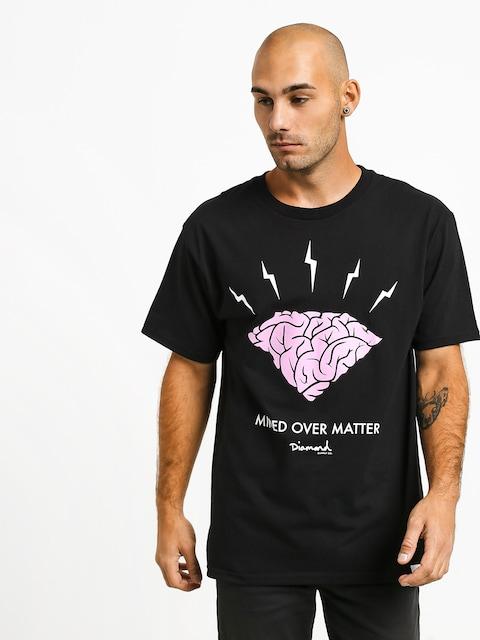 T-shirt Diamond Supply Co. Headstrong (black)