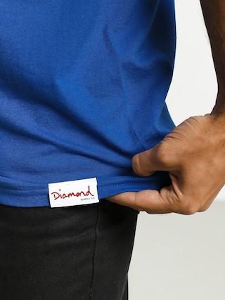 T-shirt Diamond Supply Co. Headstrong (blue)