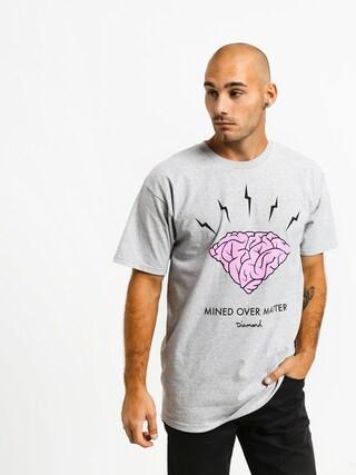 T-shirt Diamond Supply Co. Headstrong (heather grey)