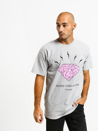 T-shirt Diamond Supply Co. Headstrong (heather grey)