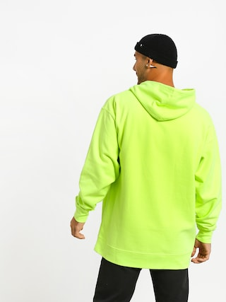 Bluza z kapturem Diamond Supply Co. Color Box Logo HD (safety green)