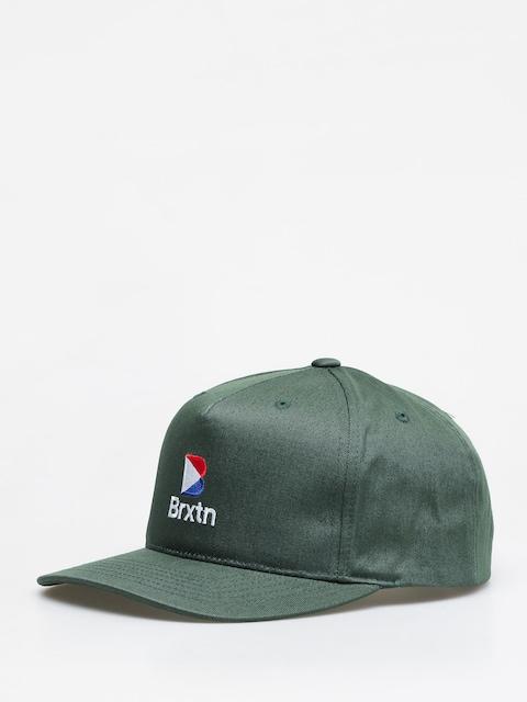 Czapka z daszkiem Brixton Stowell II Mp Snbk ZD (emerald)