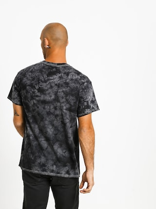 T-shirt Diamond Supply Co. World Is Yours Crystal Wash (black)