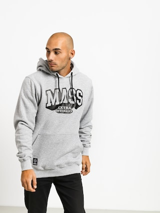 Bluza z kapturem MassDnm Hassle HD (light heather grey)