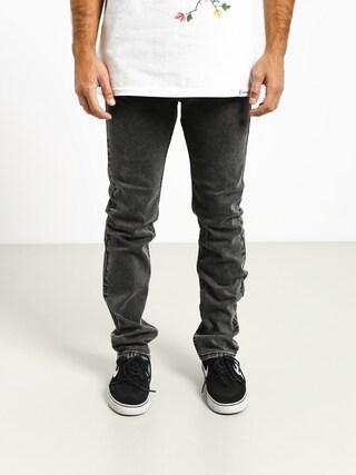 Spodnie MassDnm Classics Jeans Straight Fit (black stone washed)