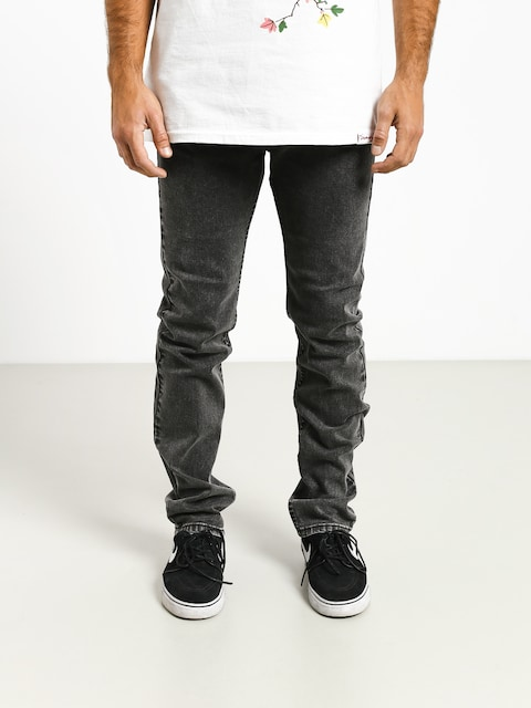 Spodnie MassDnm Classics Jeans Straight Fit (black stone washed)