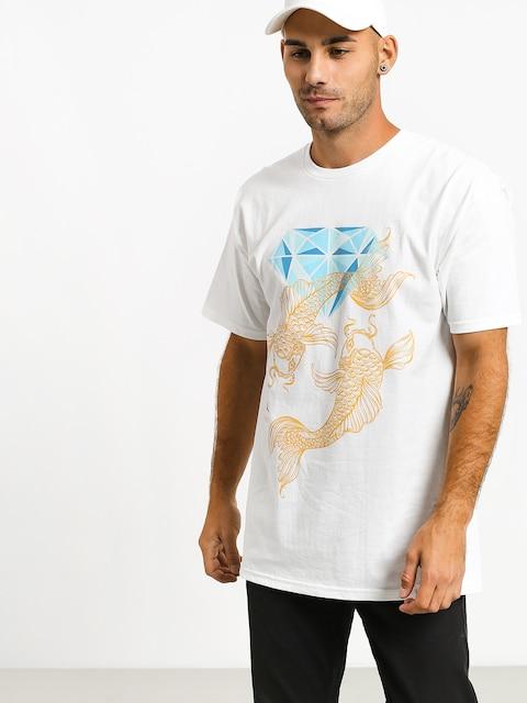 T-shirt Diamond Supply Co. Pond (white)