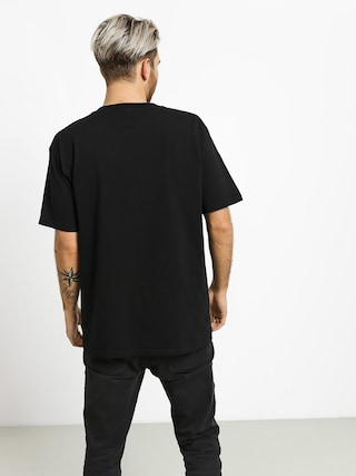 T-shirt Diamond Supply Co. Color Box Logo (black)