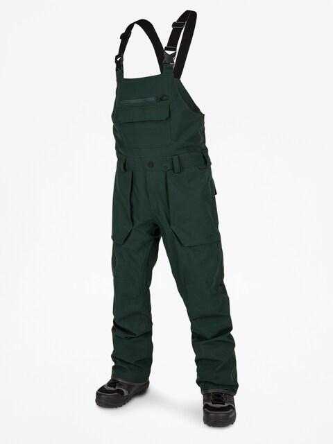 Spodnie snowboardowe Volcom Roan Bib Overall (dkg)