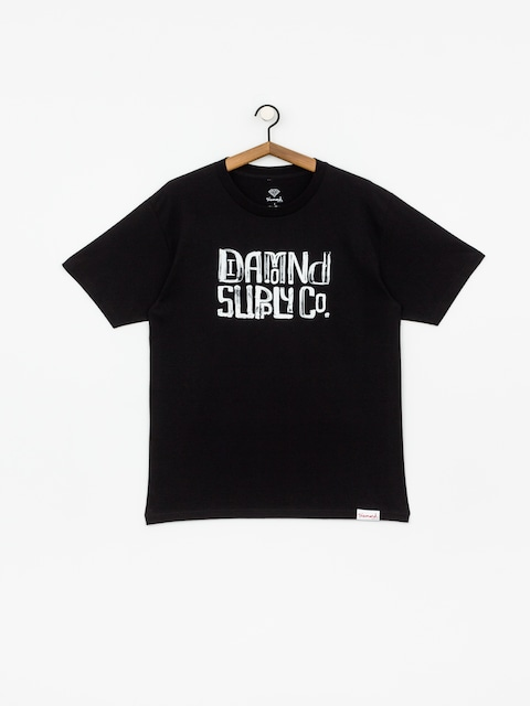 T-shirt Diamond Supply Co. Downtown Signature
