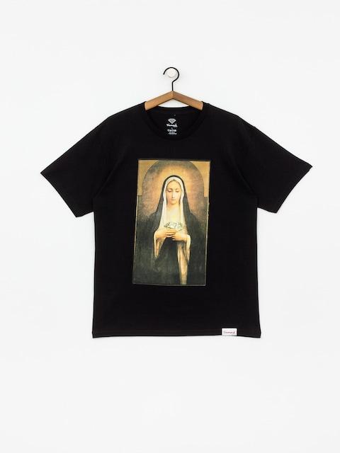 T-shirt Diamond Supply Co. Solemn