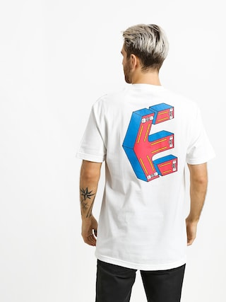T-shirt Etnies Phil Morgan Crazee Skate (white)