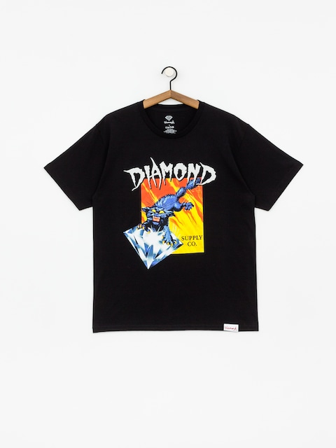 T-shirt Diamond Supply Co. Greed