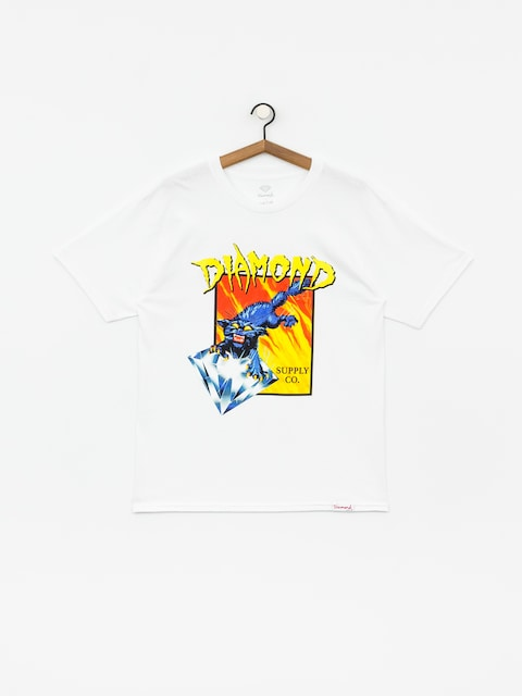 T-shirt Diamond Supply Co. Greed