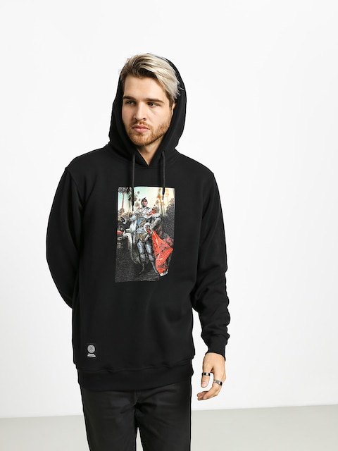 Bluza z kapturem MassDnm Lord Pac HD (black)