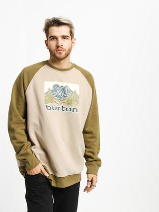 Bluza Burton Weir Crew (plaza taupe)