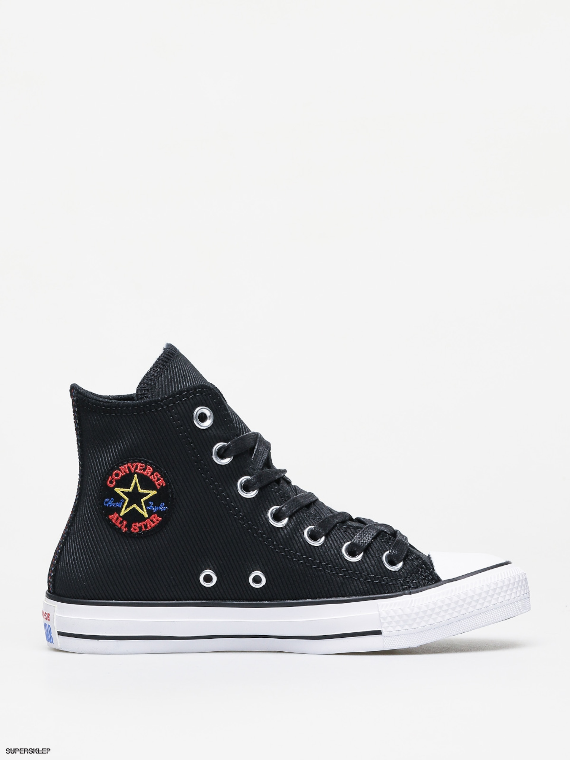 Trampki Converse Chuck Taylor All Star Hi Retrograde Wmn (blackhabanero redwhite)