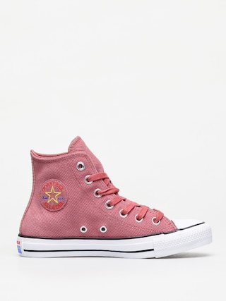 Trampki Converse Chuck Taylor All Star Hi Retrograde Wmn (light redwood/habanero red)