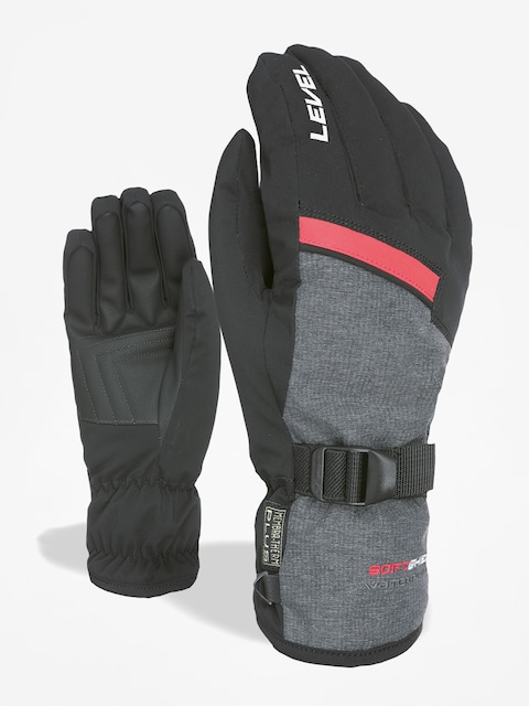 Rękawice Level Hero (black grey)