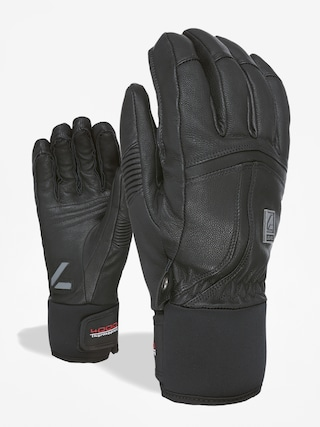 Ru0119kawice Level Off Piste Leather (black)