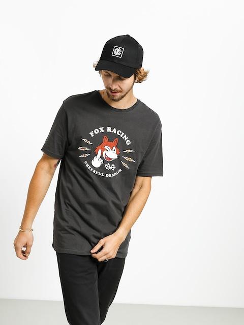 T-shirt Fox Cheerful Despair (blk vin)