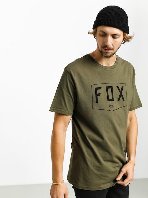 T-shirt Fox Shield (olv grn)