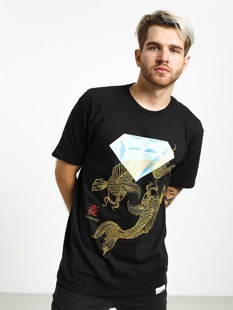 T-shirt Diamond Supply Co. Pond (black)