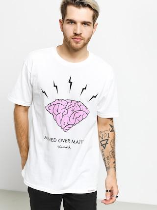 T-shirt Diamond Supply Co. Headstrong (white)
