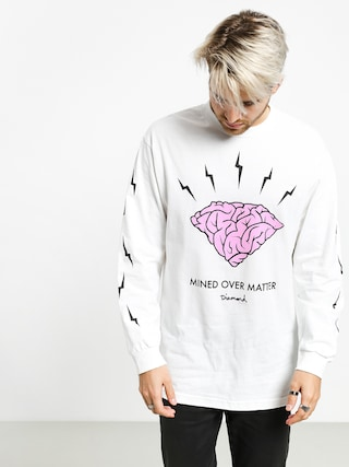 Longsleeve Diamond Supply Co. Headstrong (white)