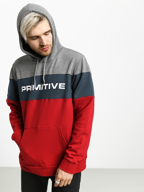 Bluza z kapturem Primitive Levels HD (athletic heather)