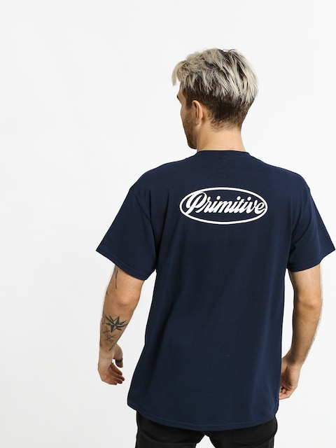 T-shirt Primitive Luke Script II Pocket (navy)