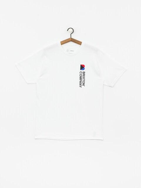 T-shirt Brixton Stowell VI Stt (white)