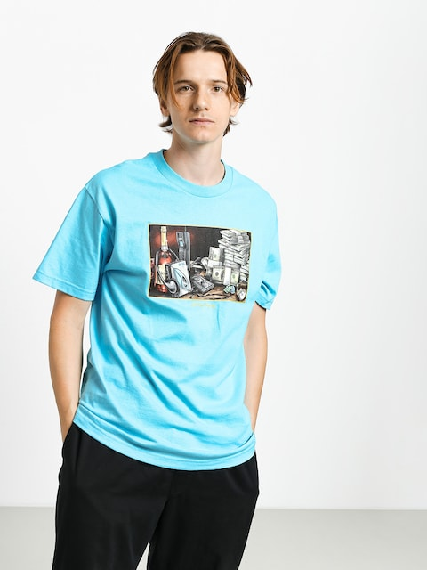 T-shirt DGK Still Life (pacific blue)