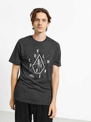 T-shirt Volcom Eyechart Hth (heather black)