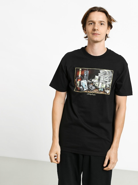T-shirt DGK Still Life (black)